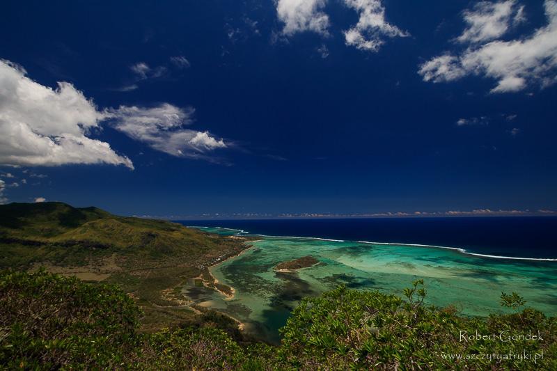 Turkusowe wybrzeże Mauritiusa