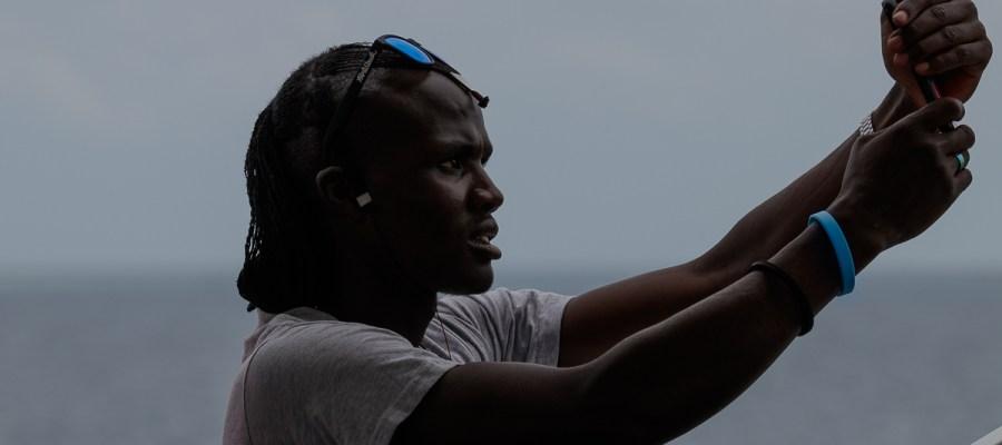 Masaj na promie z Zanzibaru