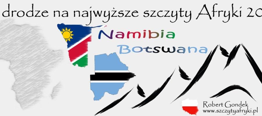 Podróż do Namibii i Botswany
