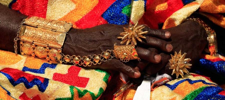 Festiwal Akwasidae – ozdoby wodzów