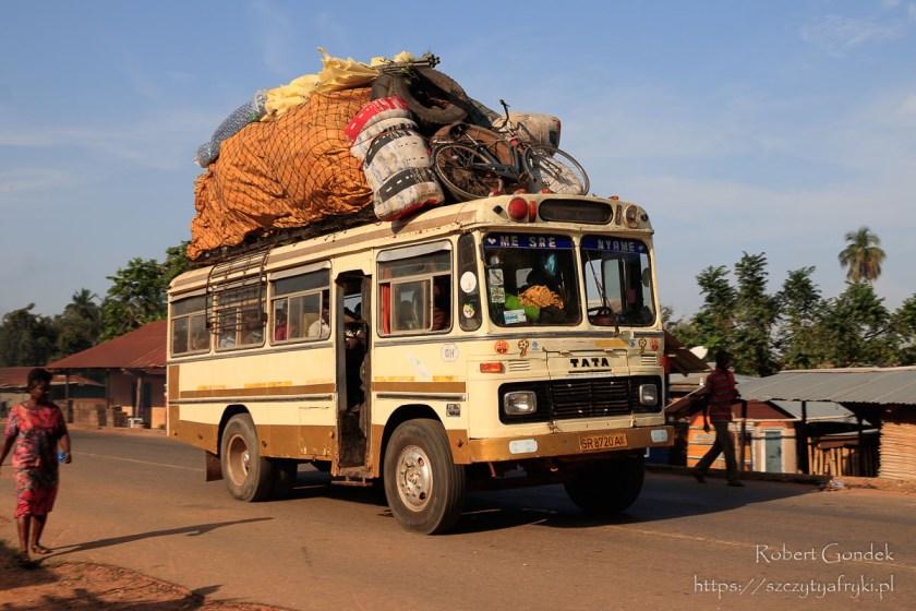 Transport w Ghanie