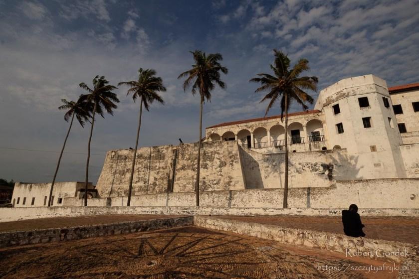 Forty i zamki w Ghanie - zamek w Elminie