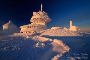 Zima na Śnieżce
