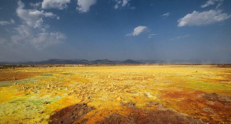 Najciekawsze miejsca w Afryce - Wulkan Dallol w Etiopii