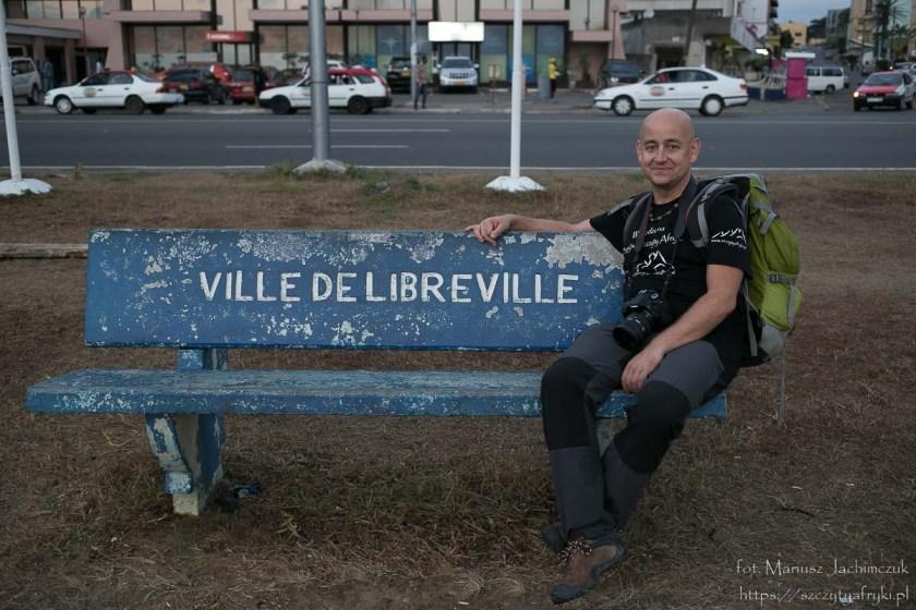 Na ławce w Libreville