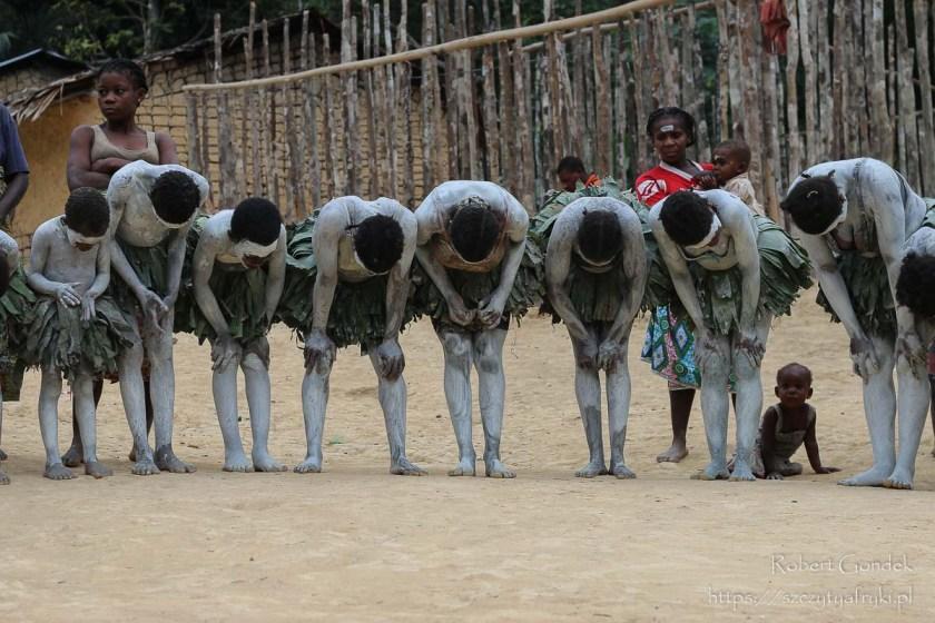 Pigmeje Bongo w Gabonie