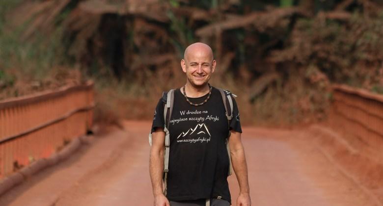 Robert Gondek w podróży po Gabonie