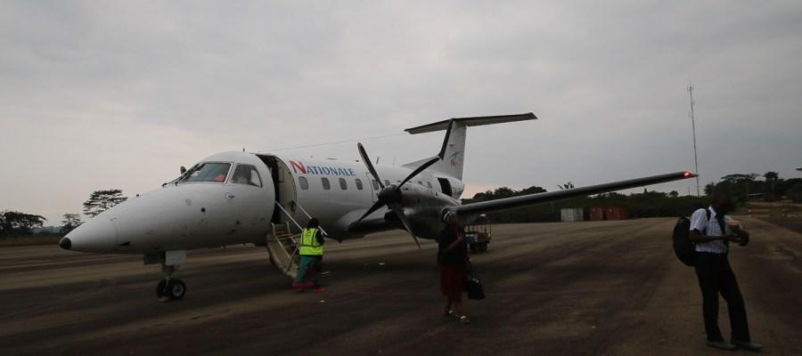 Samolot do Makokou