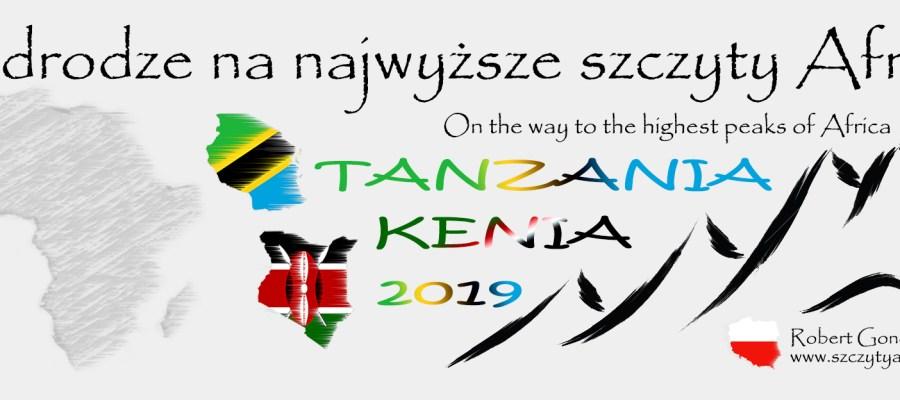 Logo podróży do Kenii i Tanzanii