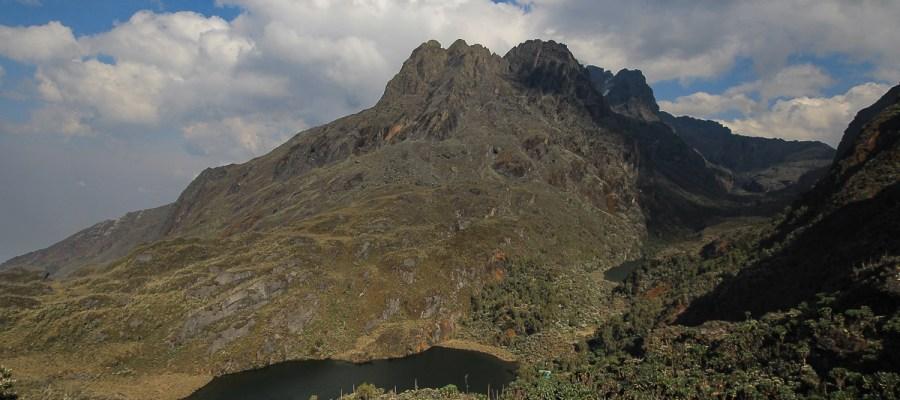Odcinek pomiędzy Kitandara Hut i Guy Yeoman Hut