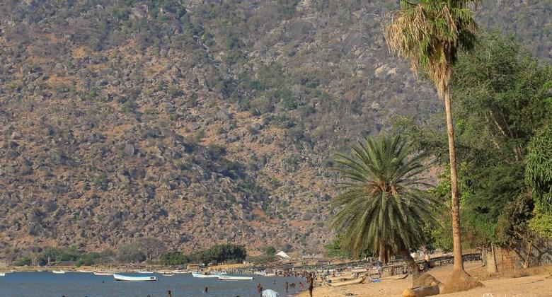 Przylądek MacLear nad jeziorem Malawi