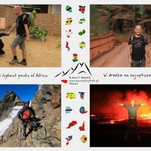 Robert Gondek na zdjęciach w Afryce