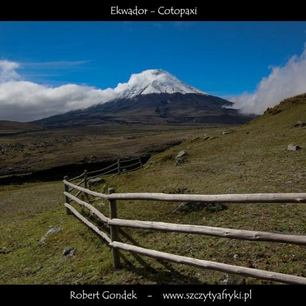 Zdjęcie Cotopaxi w Ekwadorze