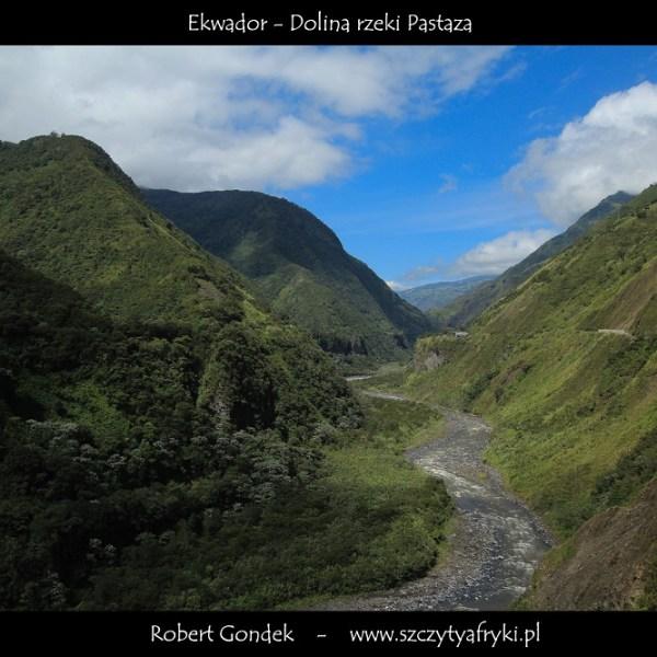 Zdjęcie rzeki Pastaza w Ekwadorze