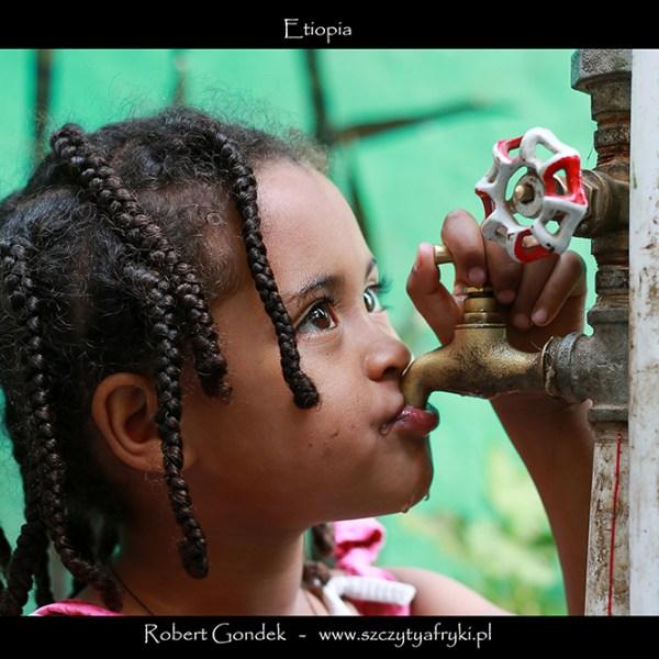 Zdjęcie dziewczynki z Etiopii