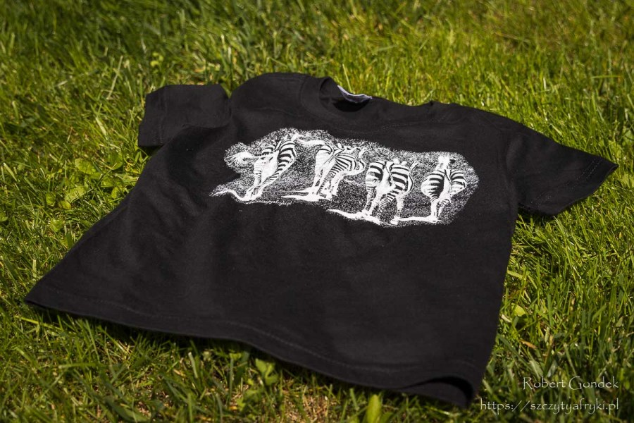T-shirt zebry
