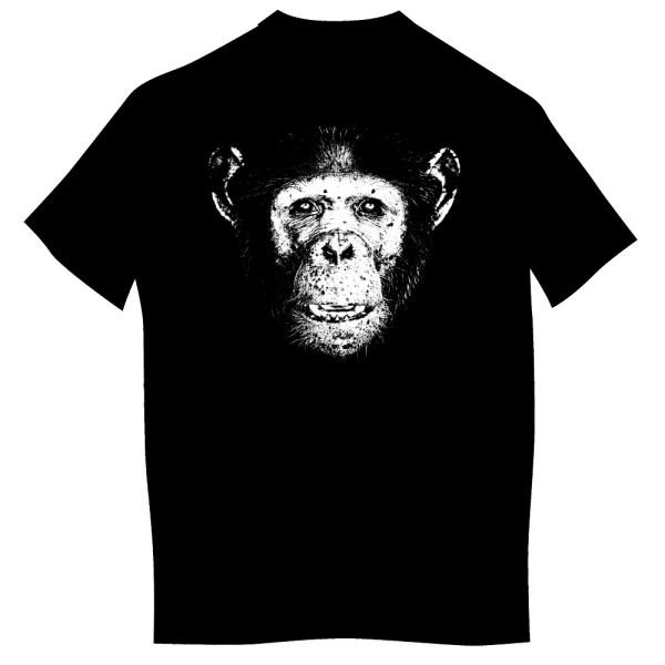 Koszulka z szympansem dzieci