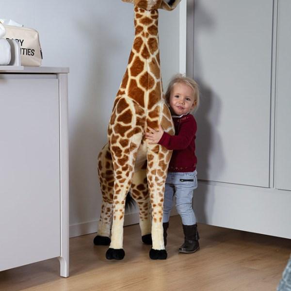 Duża żyrafa - dekoracja do pokoju dla dziecka