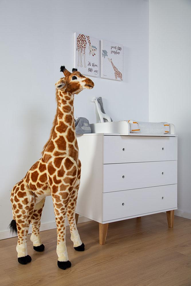 Duża żyrafa zabawka - dekoracja pokoju dla dzieci