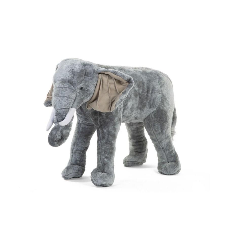 Duży słoń afrykański - dekoracja zabawka do pokoju dziecięcego