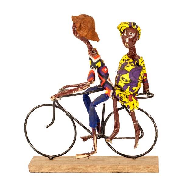 Oryginalny dekoracyjny rower z Tanzanii