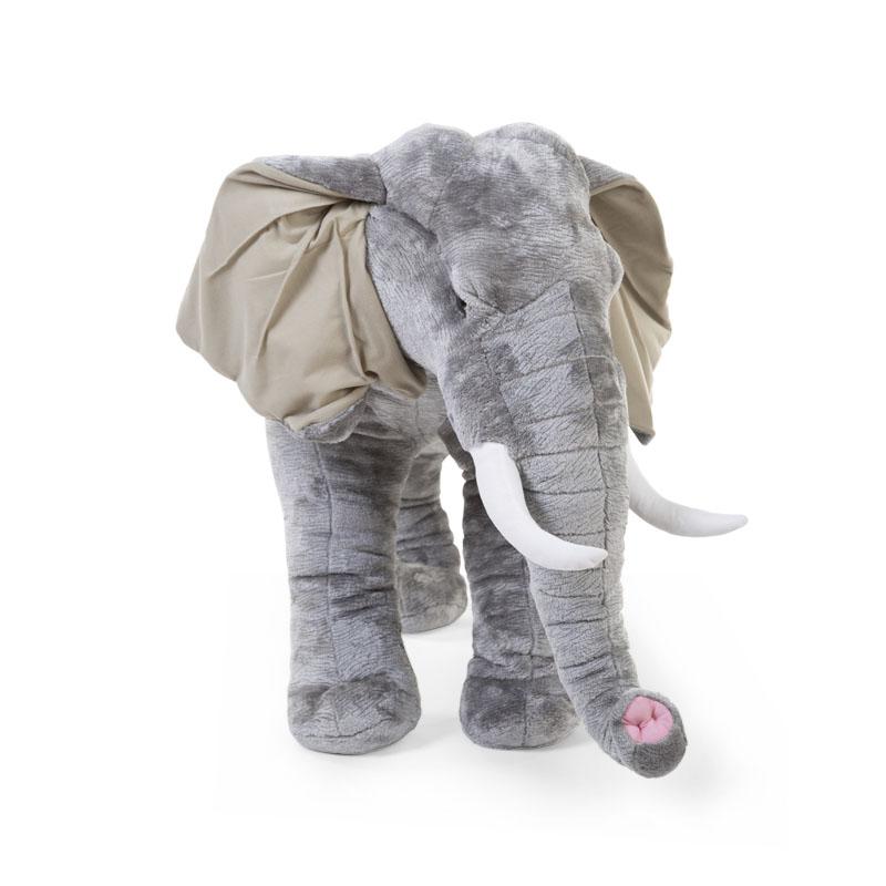 Wielki słoń afrykański - dekoracja zabawka do pokoju dziecięcego