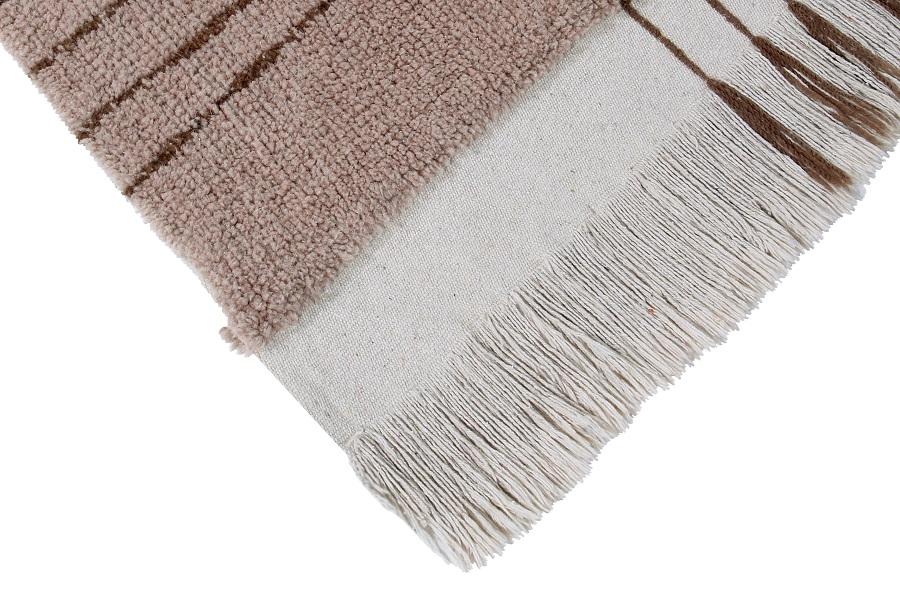 Afrykańska kolekcja wełnianych dywanów - model Shuka Dusty Pink- wyposażenie wnętrz