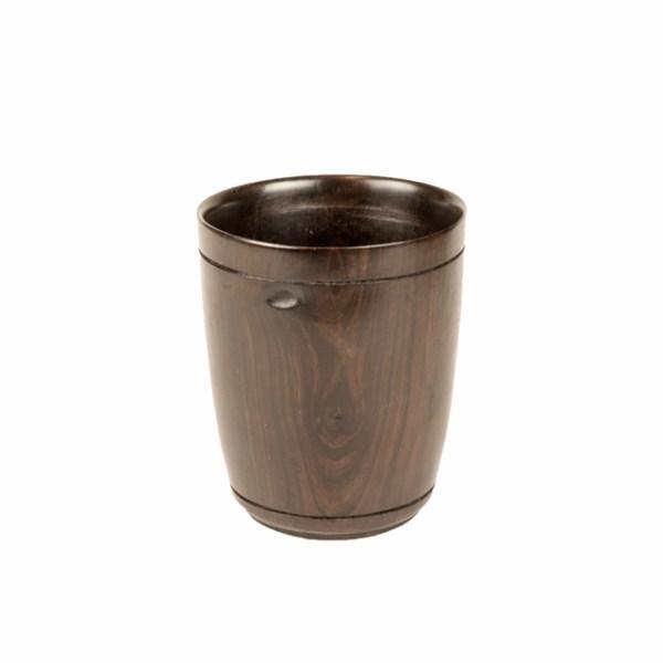 Drewniany kubek z Malawi - drewniane naczynia