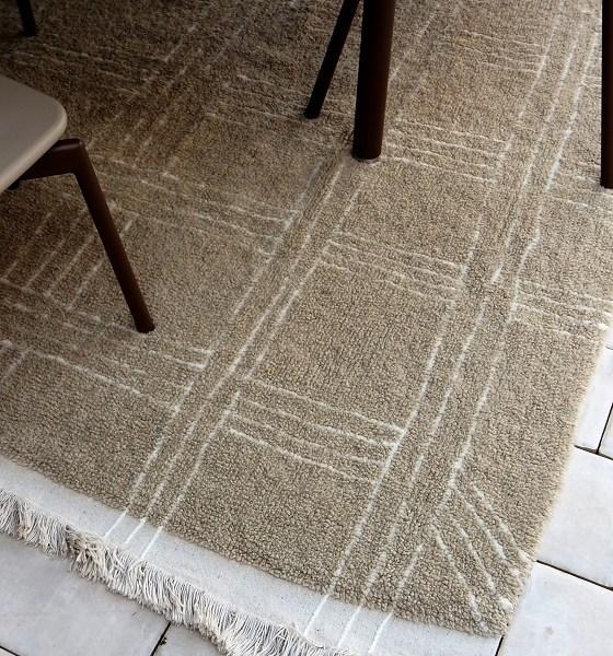 Kolekcja wełnianych dywanów - Shuka Sandstone - wnętrza w stylu afrykańskim