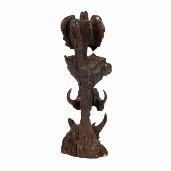 Oryginalna rzeźba z Afryki - Big Five - drewniana rzeźba