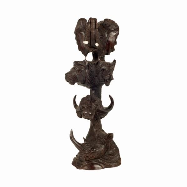Oryginalna rzeźba z Afryki - Big Five