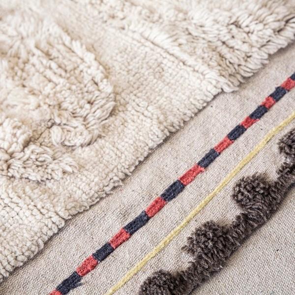 Wełniany dywan Bahari afrykańskie inspiracje