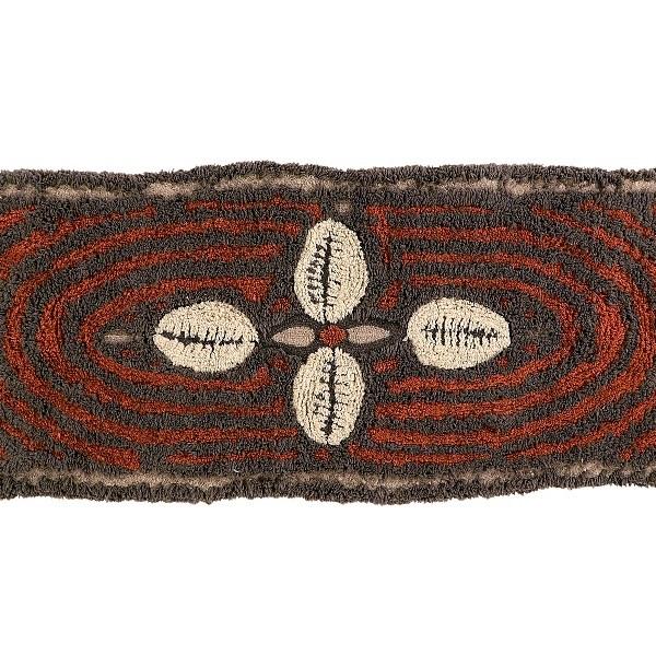 Wełniany dywan Cowrie Bracelet - afrykańska kolekcja