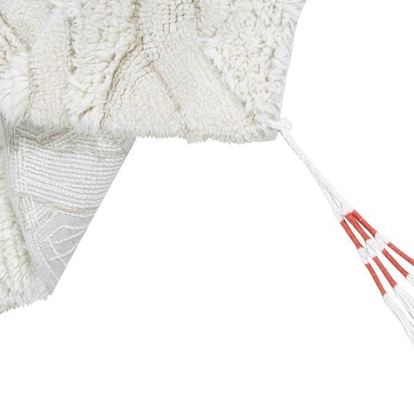 Wełniany dywan Enkang Ivory - afrykańska kolekcja Lorena Canals - dywany