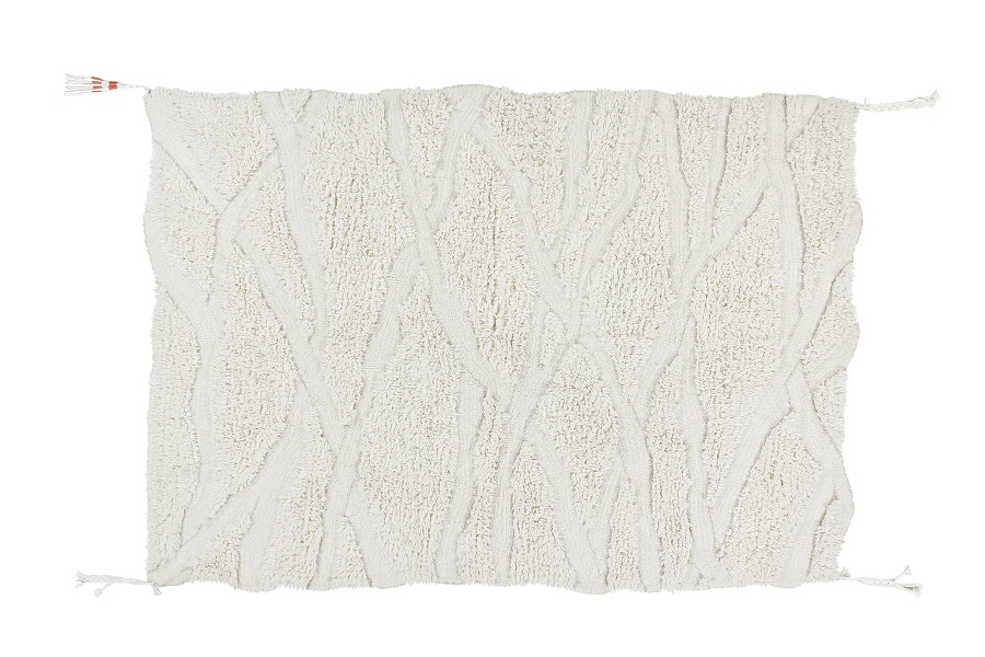 Wełniany dywan Enkang Ivory - afrykańska kolekcja