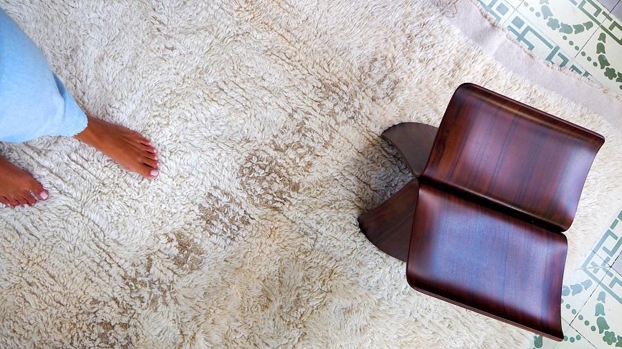 Wełniany dywan Jambo - Lorena Canals z motywem afrykańskim