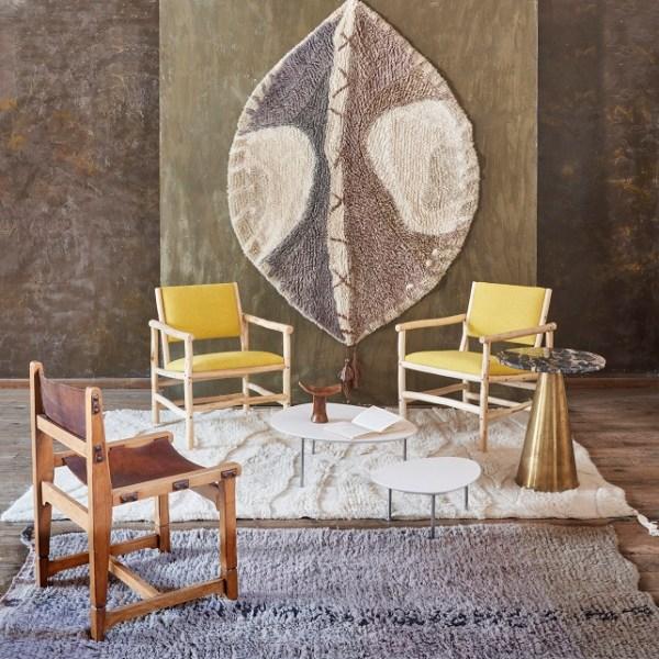 Wełniany dywan - model Maisha - wnętrza inspirowane Afryką