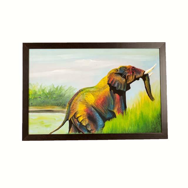 Obraz Tinga Tinga ze słoniami