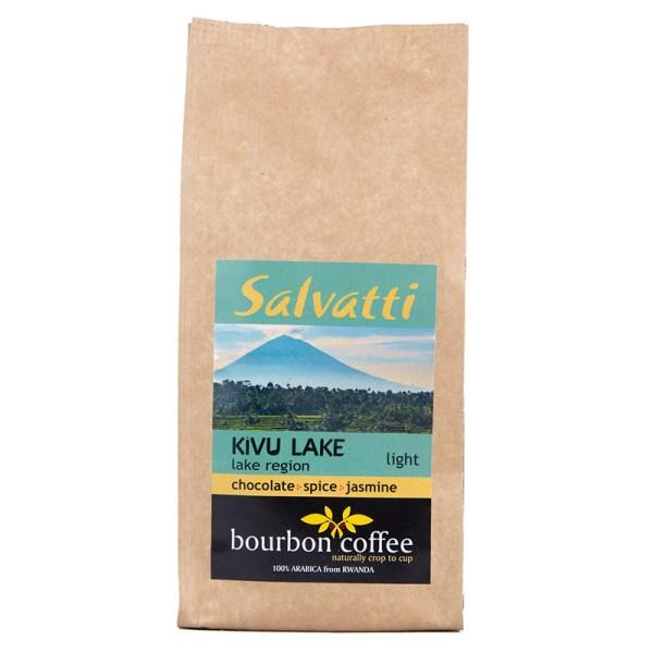Wysokogatunkowa kawa ziarnista z Afryki Kivu Lake - 250 g - jasno palona