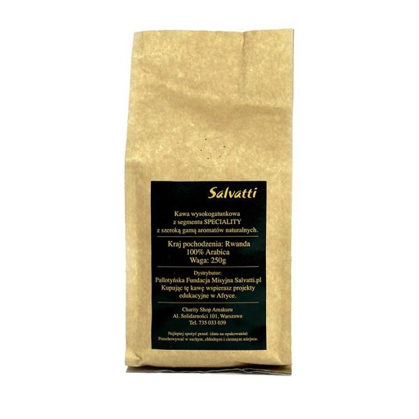 Ziarnista kawa z Afryki - Arabica z rejonu Virunga