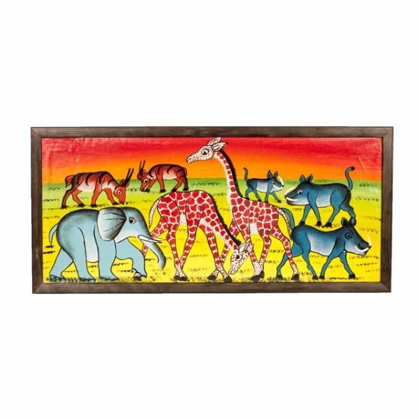 Tingatinga - zwierzęta Afryki