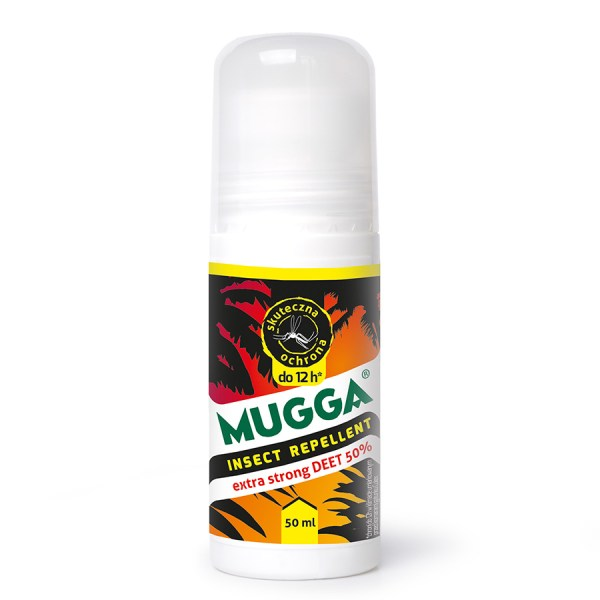 Mugga na komary - najlepsza w Afryce - 50% Deet