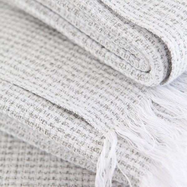 Szary ręcznik plażowy Mungo