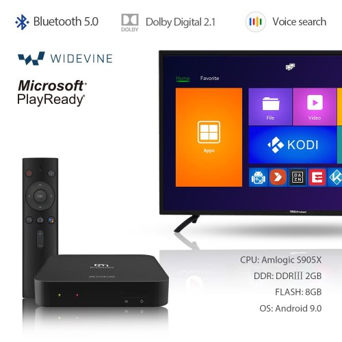 DreaMedia M1 4K android streaming player 1