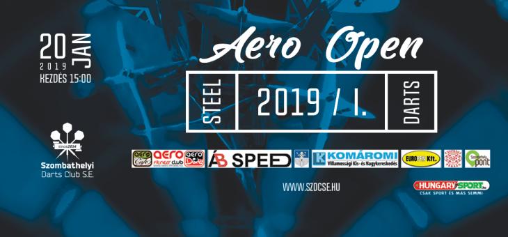 2019-ben is Aero Open