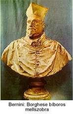 Bernini: Borghese bíboros mellszobra