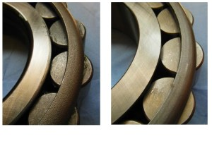 Problematic consequences of counterfeit rolling bearings PIC