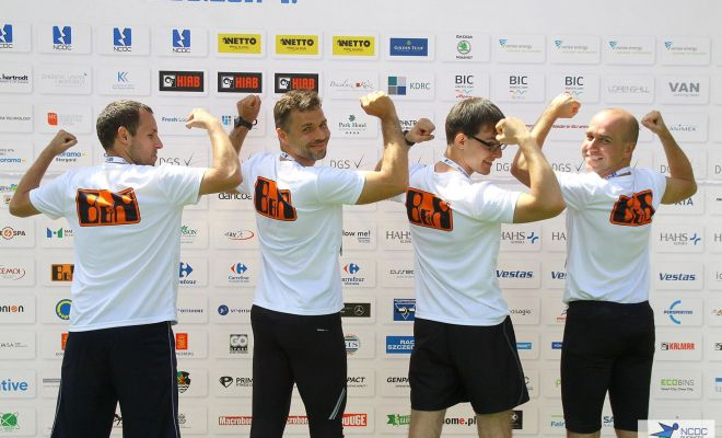 Zawodnicy B&R Running Team podczas NCDC Business Race