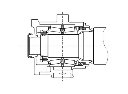 10657_Image4-NSK-tapered-roll-bearing-arrangement-drawing2