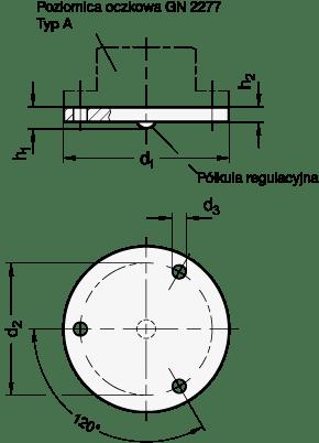Rys.3: Podkładka regulacyjna GN 2277.1